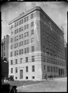 The old Portland Press Herald building